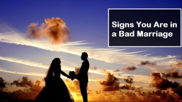 Signs You Are in a Bad Marriage